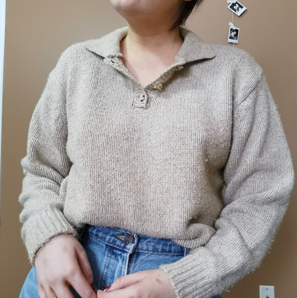 Vintage Wool and Cotton Sweater